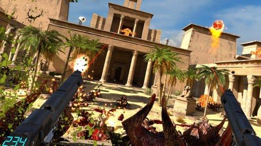 Serious Sam VS: The Last Hope скриншот 1