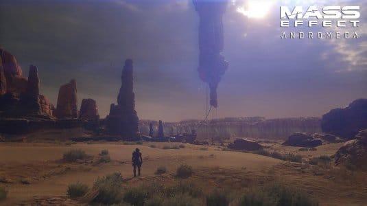 Mass Effect: Andromeda. Поверхность планеты