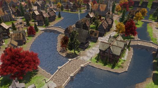 The Guild 3. Один из районов города