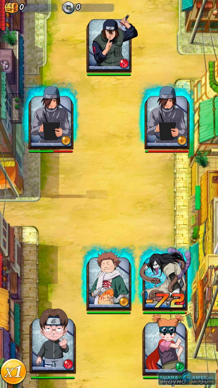 карточная игра наруто онлайн