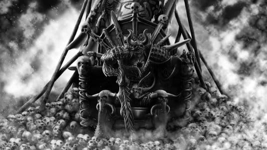 Кхорн, он же Бог Крови в мире Warhammer