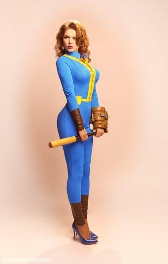 Галина Жуковская: фотосессия в стиле пин-ап, косплей на Fallout 4 №8