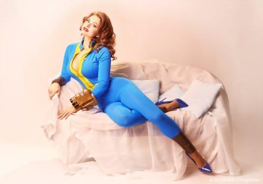 Галина Жуковская: фотосессия в стиле пин-ап, косплей на Fallout 4 №6