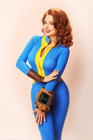 Галина Жуковская: фотосессия в стиле пин-ап, косплей на Fallout 4 №5