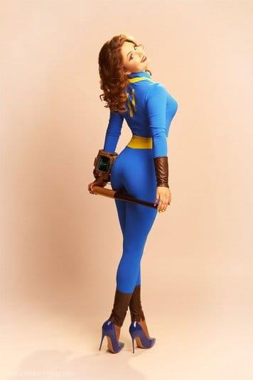 Галина Жуковская: фотосессия в стиле пин-ап, косплей на Fallout 4 №2