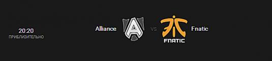 Alliance vs Fnatic