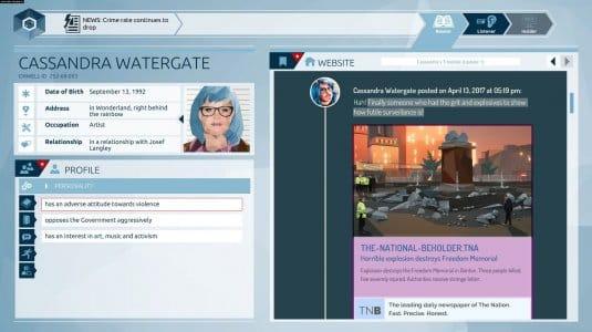 Оруэлл скриншот 3