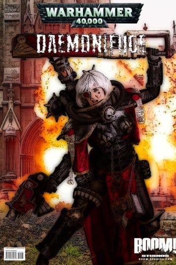 Женский косплей на Warhammer 40000 от LolliLane CosNerd №2