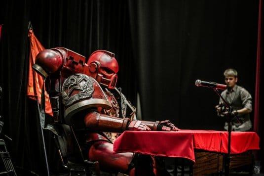 Ленин жив! — косплей на Warhammer 40000 №2