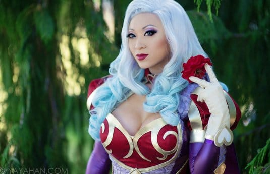 Yaya Han — косплей на Heartseeker (League of Legends) №1