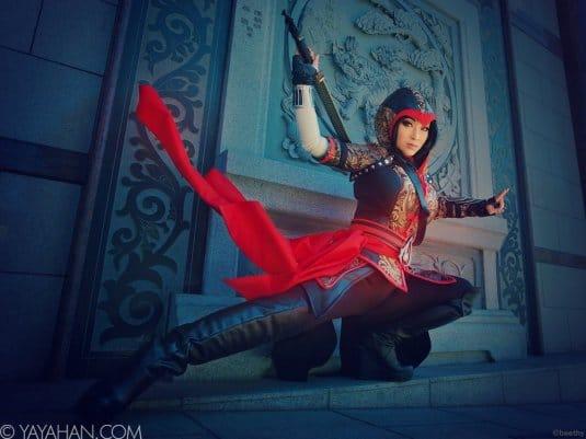 Yaya Han — женский косплей на Assassin's Creed №4