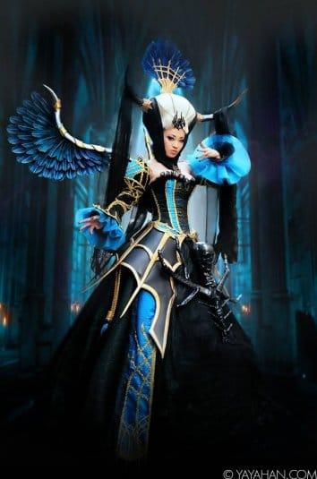 Yaya Han — косплей на Banshee Queen Enira II