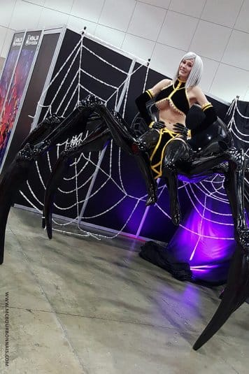 Rachnera (Monster Musume) на Anime Expo 2016