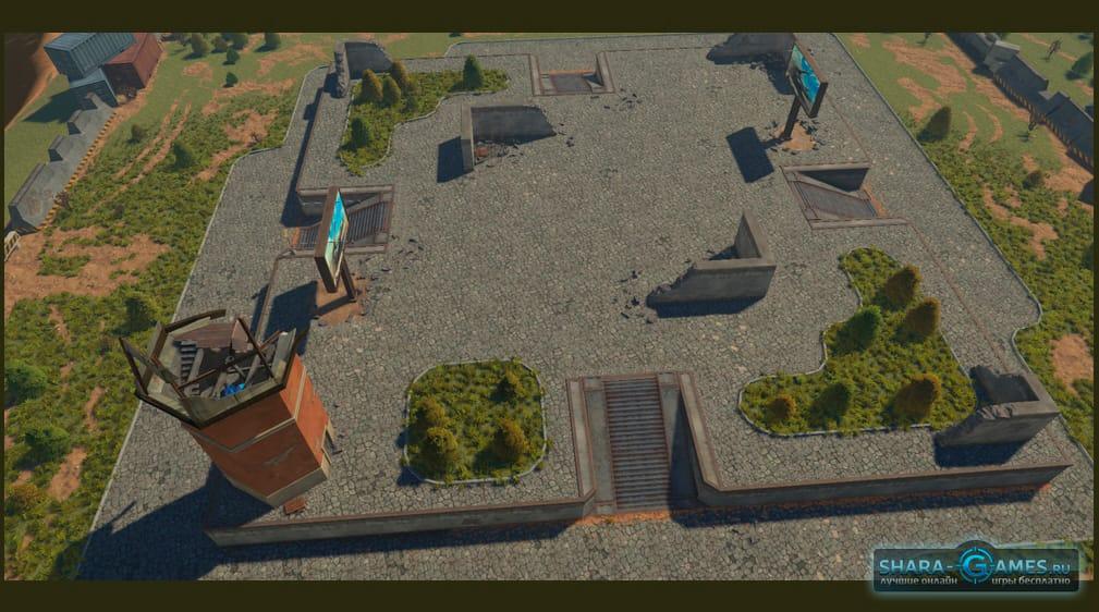 Вид карты Песочница