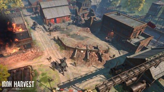 Iron Harvest. Скриншот 3