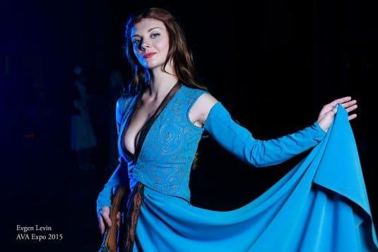Ксения Шелковская — косплей на Маргери Тирелл #1