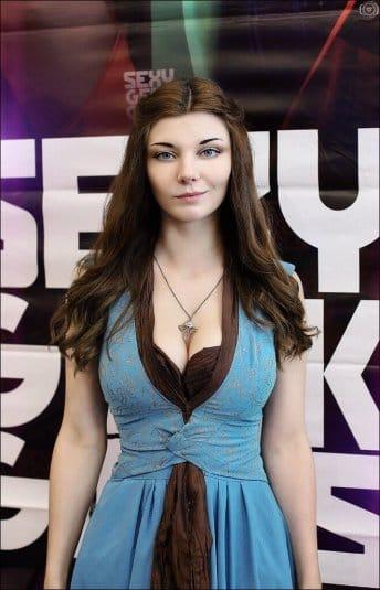 Ксения Шелковская — косплей на Маргери Тирелл #13