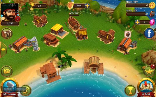 Пиратский лагерь