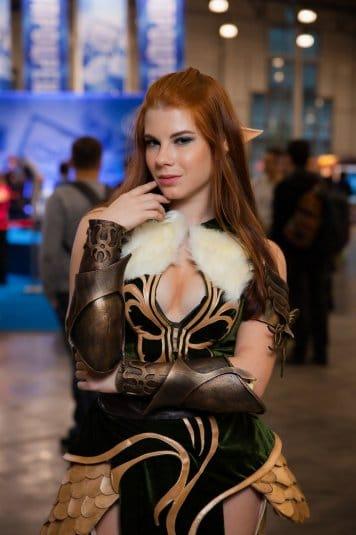 Анастасия Зеленова на ИгроМире 2016 №6