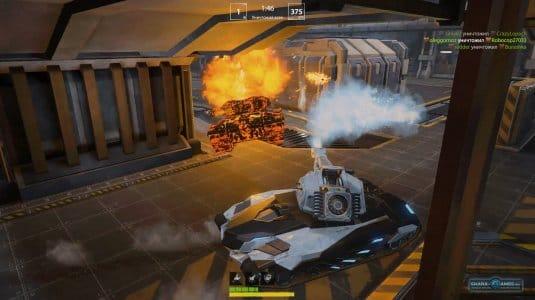 Уничтожение тяжелого танка