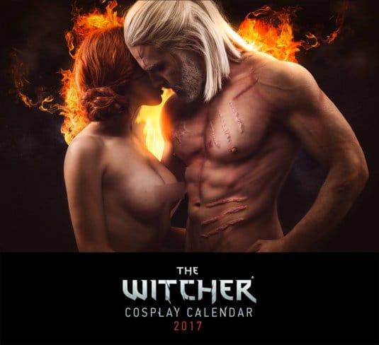 Witcher 3: Wild Hunt — Косплей календарь 2017 №7