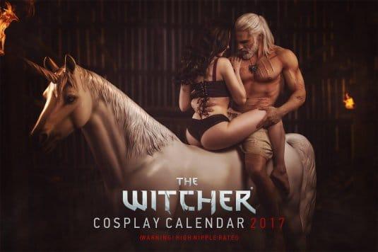 Witcher 3: Wild Hunt — Косплей календарь 2017 №6