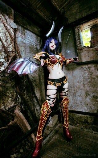 Misa TW Cosplayer cosplay DOTA 2 #1