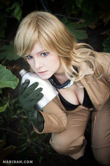 Косплей Maridah на EVA из Metal Gear Solid 3. Фото № 19