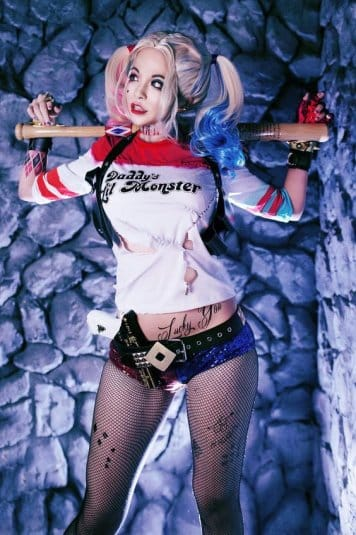 Misa Chiang cosplay Harley Quinn #1