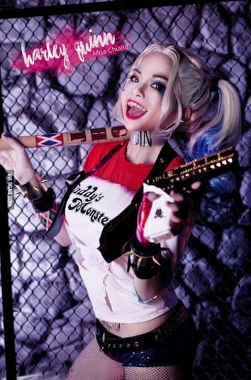 Misa Chiang cosplay Harley Quinn #2
