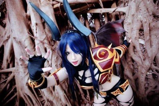 Misa TW Cosplayer cosplay DOTA 2 #5