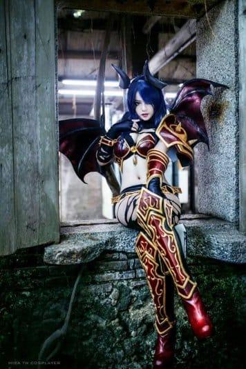 Misa TW Cosplayer cosplay DOTA 2 #3