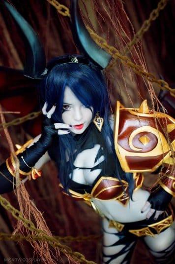 Misa TW Cosplayer cosplay DOTA 2 #4