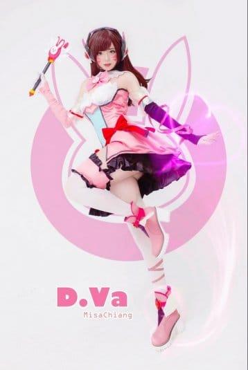 Misa Chiang cosplay Overwatch D.Va #7