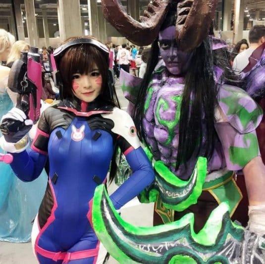 Misa Chiang cosplay Overwatch D.Va #1