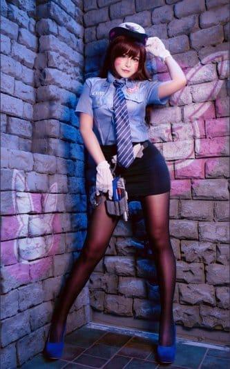 Misa Chiang cosplay Overwatch D.Va #8