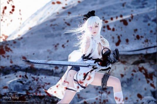 Misa TW Cosplayer cosplay Zero Drakengard 3 #1