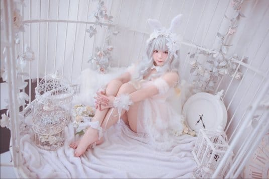 Misa TW Cosplayer cosplay White Rabbit #2