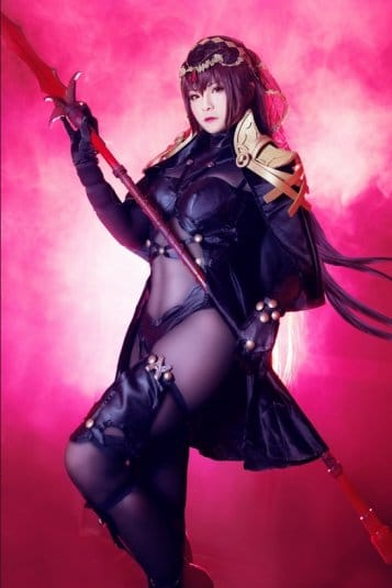 Misa Chiang cosplay Scathach № 2