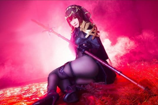 Misa Chiang cosplay Scathach № 3