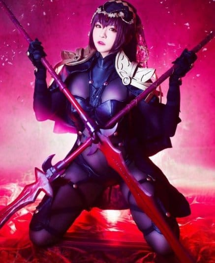 Misa Chiang cosplay Scathach № 1