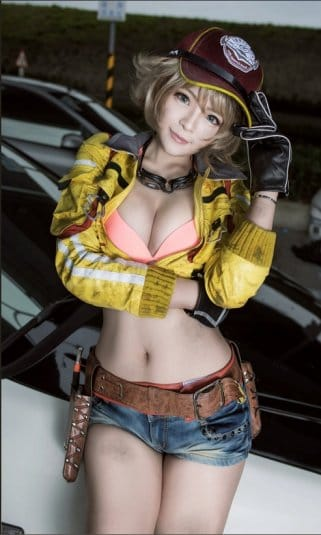 Misa Chiang cosplay Cindy Final Fantasy XV № 4