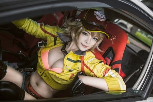 Misa Chiang cosplay Cindy Final Fantasy XV № 2