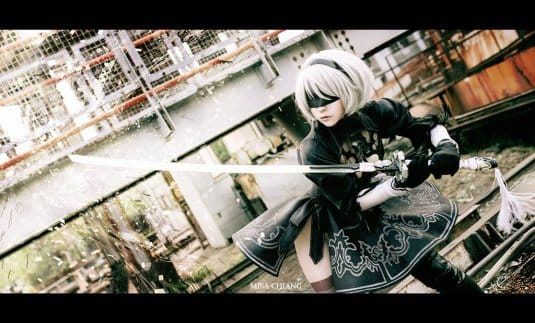 Misa Chiang cosplay Nier Automata № 3