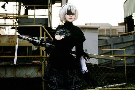 Misa Chiang cosplay Nier Automata № 8