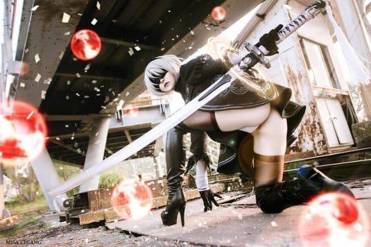Misa Chiang cosplay Nier Automata № 5