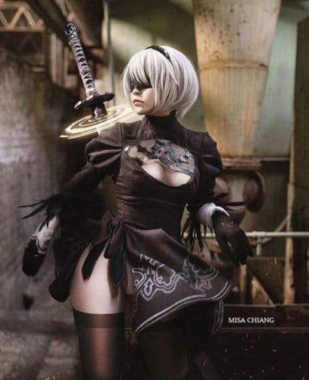 Misa Chiang cosplay Nier Automata № 9