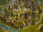 Город можно украсить фонтанами и памятниками