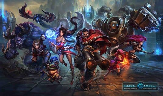 Герои в League of Legends