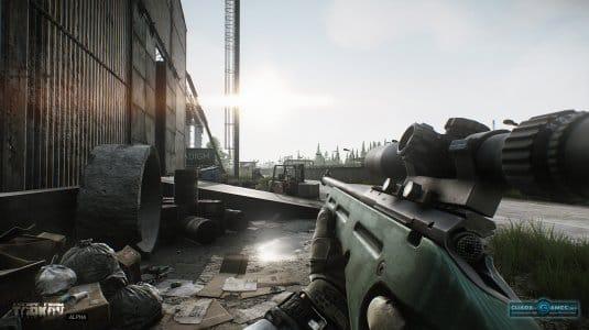 На карте в игре «Побег из Таркова»